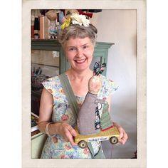 Julie Arkell: 'making a shape' (on wheels)