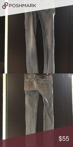 Miss Me Jeans Size 26 Regular/Long Miss Me Jeans Straight Leg