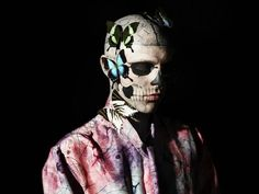 """I'm in love with Rick Genest: """"zombie boy"""""""