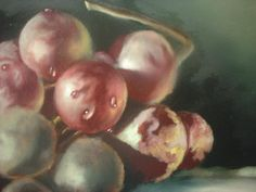 how to paint grapes