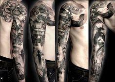 Realism Tattoo by Matteo Pasqualin | Tattoo No. 6284