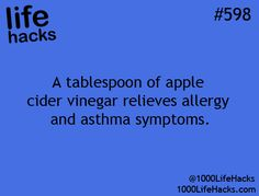 life hack-the asthma relief might be worth trying this later.  Not sure if I can stomach it though.