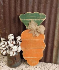 Rustic Farmhouse Easter Decor, Rustic Carrot, Easter Door Hanger, Carrot Sign, Distressed Carrot Wall Hanging decorating carrots Your place to buy and sell all things handmade Easter Crafts For Kids, Easter Decor, Spring Crafts, Holiday Crafts, Holiday Decor, Ideas Actuales, Craft Ideas, Wood Ideas, Wood Crafts