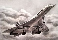 Concorde IV by Inuksuk on DeviantArt Civil Aviation, Aviation Art, Concorde, Fighter Aircraft, Fighter Jets, Museum Of Curiosity, Tupolev Tu 144, Passenger Aircraft, Air Space