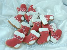 Royal Icing, Cookie Decorating, Christmas Cookies, Gingerbread, Wonderful Time, Baking, Holiday, Desserts, Recipes