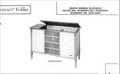 ZENITH  Model RL2601W3 Single Ended Stereo Tube Amplifier + AM/FM TUNER #ZENITH