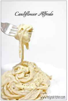 Helyn's Healthy Kitchen: Cauliflower Alfredo. Vegan and Oil-free.