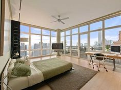 Wolf of Wall Street Penthouse Apartment in Manhattan-New York for Sale Milan Apartment, Manhattan Apartment, Penthouse Apartment, Bedroom Apartment, Apartment Design, New York Penthouse, Penthouse For Sale, Manhattan Penthouse, Manhattan New York