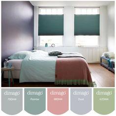 Kies bij het restylen van je slaapkamer voor dimago® raamdecoratie in mooie najaarstinten, zoals deze verduisterende dupligordijnen uit onze nieuwe collectie!