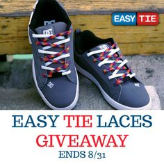 Easy Tie Laces Giveaway