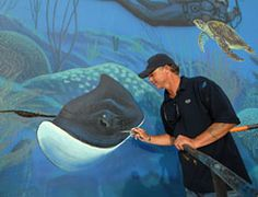 WYLAND FINISHES FINAL U.S. 'WHALING WALL' IN KEY LARGO - image 2