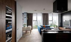 CGarchitect - Professional 3D Architectural Visualization User Community   Blue Black Apartment