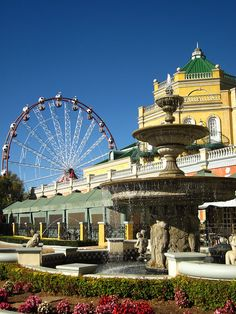 Gold Reef City theme park and casino makes for a day of adventure and excitement for the whole family. www.southafrica.net