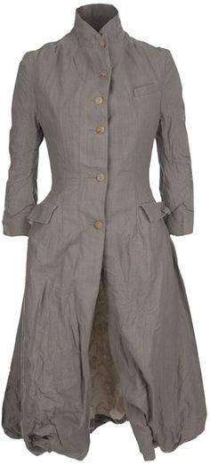Paul Harnden Shoemakers / Grey flared coat