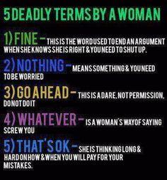 Deadly Terms
