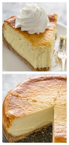 Extra Rich and Creamy Cheesecake is perfect for special occasions! Extra Rich and Creamy Cheesecake is perfect for special occasions!,Backen Extra Rich and Creamy Cheesecake Related posts:Why black is. Brownie Desserts, Mini Desserts, Just Desserts, Delicious Desserts, Yummy Food, Freezer Desserts, Trifle Desserts, Plated Desserts, Healthy Desserts
