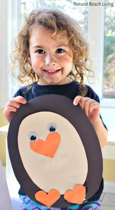 Adorable Penguin Craft Preschool Activity, Penguin Theme Unit, Penguin Crafts, Fine motor skills, This little penguin is so cute everyone will love it.