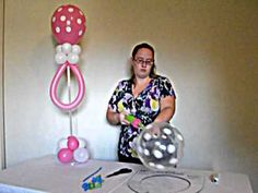 Pacifier balloon 3 balloons