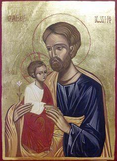 St Joseph and Child Jesus