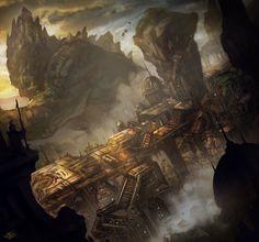 City Colossus by mlappas.deviantart.com on @deviantART