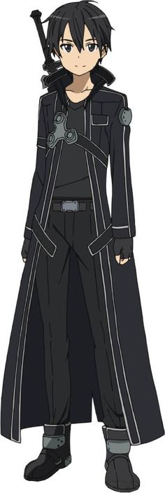 swordartonline.wikia.com303 × 905 Search by image File:Kirito Full Body.png sword art online kirito - Google Search