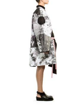 Womenswear Hand Painted Coat | Atelier Kikala | Shop | NOT JUST A LABEL