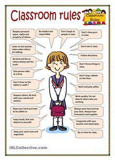Classroom rules | Sınıf Kuralları