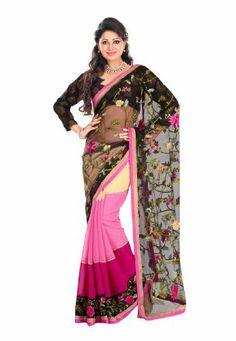 #Fabdealdotcom #Indian #Designer #Chiffon & #Jacquard #Black #Embroidered #Saree Fabdeal, http://www.amazon.co.uk/dp/B00INWPIPE/ref=cm_sw_r_pi_dp_7.6rtb15ZQPM5