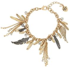 Angels And Wings Charm Bracelet