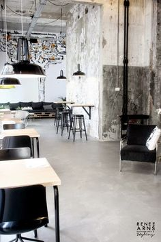 An Industrial Deli and Take Away | at 'the Leidingstraat'