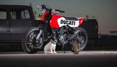 Ducati Supermoto Scrambler http://silodrome.com/ducati-supermoto-scrambler/