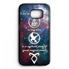 Divergent Tris Tattoo Ravens Quote Samsung Galaxy S6 Edge Plus Case