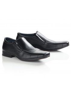 Twisted Soul Mens Black Smart Slip On Shoes, Black Slip On Shoes, Men Formal, The New School, Paisley Pattern, Boy Fashion, Loafers, Footwear, Fancy, Stylish