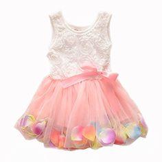 Kids Girls Princess Rose Garden Flower Petal Lace Ruffled Tulle Skirts Dresses (#10(Advice2-3Years), pink.) ACEFAST INC http://www.amazon.com/dp/B00LTKLIBU/ref=cm_sw_r_pi_dp_mC.kub058MR35