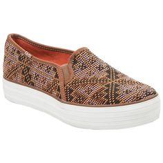 Keds Triple Decker Needlepoint Ladies Shoes