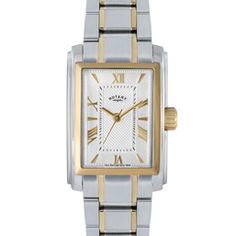 Rotary Ladies Two-tone Case Watch - LB02804/01