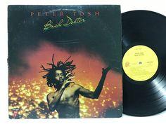 Peter Tosh Bush Doctor 1978 Original COC 39109 LP #Vinyl #Records