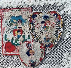 Christmas Tree Toppers, Felt Christmas, Paper Lace Doilies, Lace Background, Romantic Gifts For Her, Valentine Day Cards, Heart Shapes, Scrap, Kids Rugs