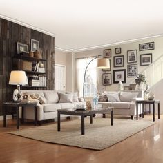 Modern 3 Pc Faux Marble Coffee Table Set Furniture Cocktail & End Tables Room #Contemporary