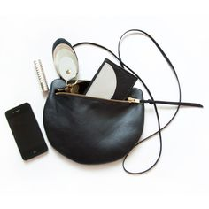 Pearl Leather Shoulder Satchel