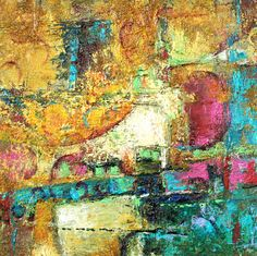 Contemporary Abstract Painting by colorsplashes on Etsy, $85.00
