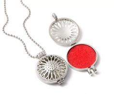 Circle Sunflower Locket / Necklace - Essential Oil Aromatherapy Diffuser Aromatherapy Necklace Never leave home without your favorite essential oil. Locket Necklace, Aromatherapy, Costume Jewelry, Bracelets, Aroma Therapy, Bracelet, Bangles, Bangle, Arm Bracelets
