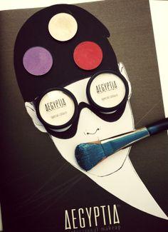 Creative makeup #aegyptia