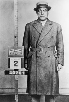 """Once a petty thief, Vito Genovese worked his way up the Mafia chain until he became an associate of """"Lucky"""" Luciano. He was rumored to have been a confidant of Italian Prime Minister Benito Mussolini."""