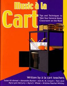 Tips and Techniques to Take Your General Music Classroom on the Road. Written by 7 á la carte teachers, you'll get help tailoring your cart and your teaching, from streamlining loading/unloading, to adapting Orff and Kodaly techniques, to incorporating technology. Reproducible checklists and diagrams, and lesson plans, too. 71 pp. PB