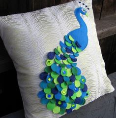 pillow made with felt