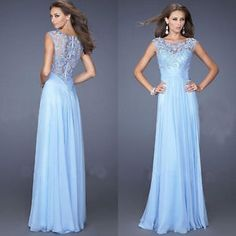 Lady Slim Lace Long Formal Evening Prom Pageant Dresses Mermaid Dress Ballgown