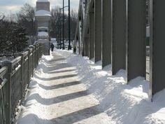 Boston University Bridge in Winter by Plant Design Online, via Flickr
