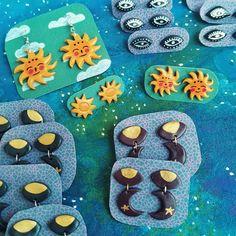 𝙋𝙤𝙡𝙮𝙢𝙚𝙧 𝘾𝙡𝙖𝙮 𝙀𝙖𝙧𝙧𝙞𝙣𝙜𝙨 || 𝙈𝙤𝙤𝙣, 𝙎𝙪𝙣, 𝙀𝙮𝙚𝙨 || Etsy Burdock Babe Polymer Clay Earrings, Babe, Moon, Eyes, Diy, Jewelry, Fashion, The Moon, Moda