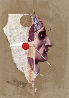 Handmade Collages 2011 by Molokid, via Behance